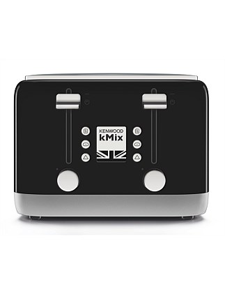 TFX750BK kMix Rich Black 4 Slice Toaster