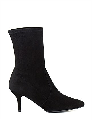 Cling Mid Calf Sock Bootie
