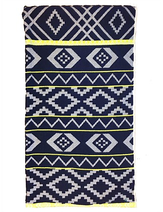 Moorea Mountains Beach Towel