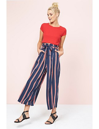 Quadrant Cropped Trousers