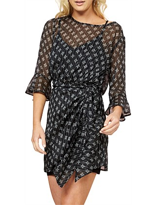 Isabel Tie Front Dress