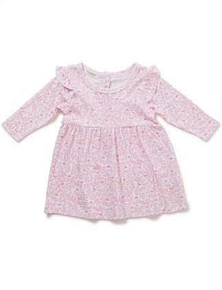 Toile Long Sleeve Dress (3-9months)