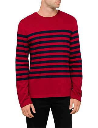 6e876f26cb0a8f Bold Stripe Lightweight Cotton Jersey ...