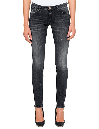 GRACEY LOW RISE SUPER SLIM SKINNY 5 POCKET JEAN