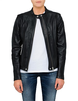 SPEZY CLASSIC LEATHER JACKET