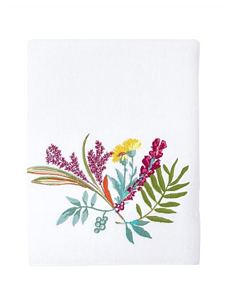 Bouquets Bath Sheet 92x160