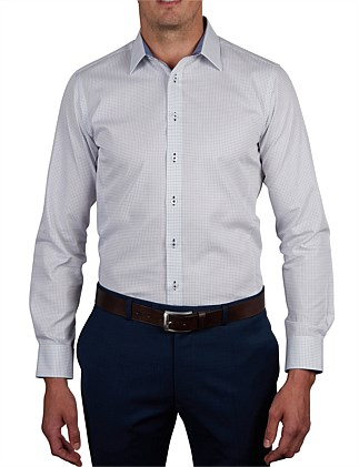 DELLA LUNA DOBBY SUPER SLIM FIT SHIRT