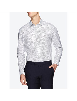 LS SCATTERED SQUARE CAMDEN FIT SHIRT