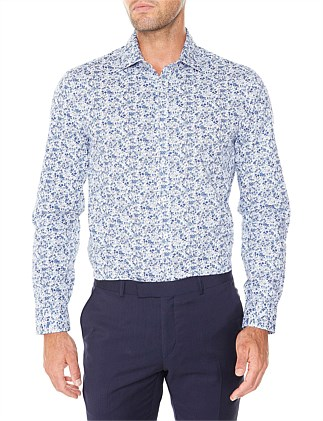 LS FLORAL KINGS FIT SHIRT