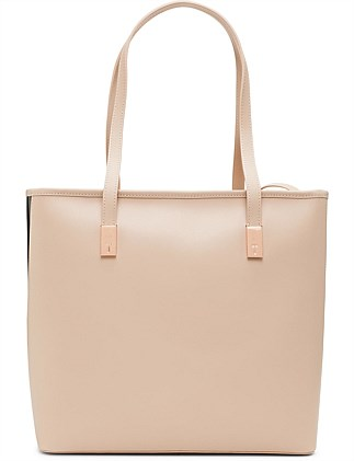 Large Leather Shopper