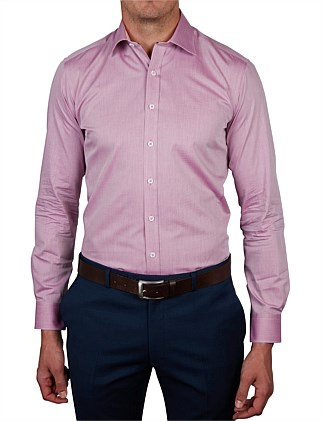 TARGHEE DOBBY BODY FIT SHIRT