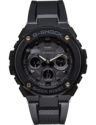 G STEEL, DUO MID SIZE,BLK FACE & CASE, BLK RESIN BND