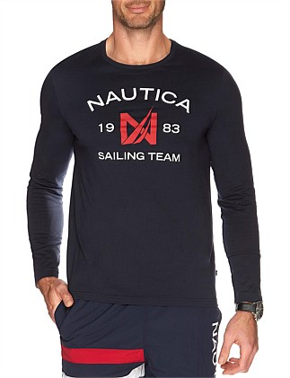Long Sleeve Sailing Team Tee