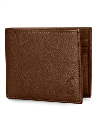 PEBBLE LEATHER BILLFOLD