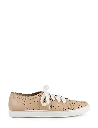 LIMA PERFORATED LACE-UP SNEAKER