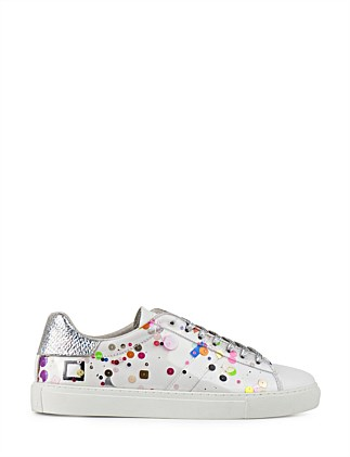 NEWMENHITECH SNEAKER WITH FLOATING SPOTS
