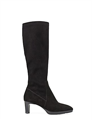 DAHLIA MID HEEL KNEE HIGH BOOT