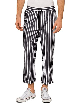 Striped Casual Trouser With Elasticated Waist