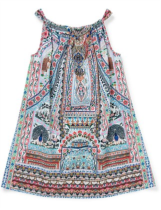 EVERLASTING LIGHT KIDS GATHERED NECK DRESS