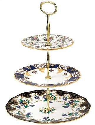 Royal Albert 100 Years 3 Tier Cake Stand 1900-1940