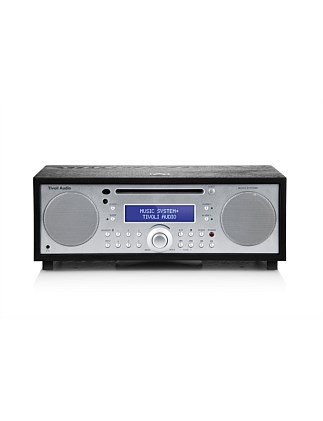 Music System+ CD/FM/DAB+ Hi-Fi System with Bluetooth - Black