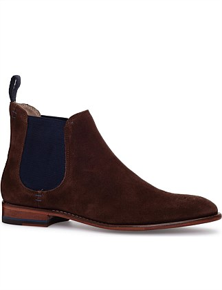 SUEDE LEATHER SOLE CHELSEA BOOT