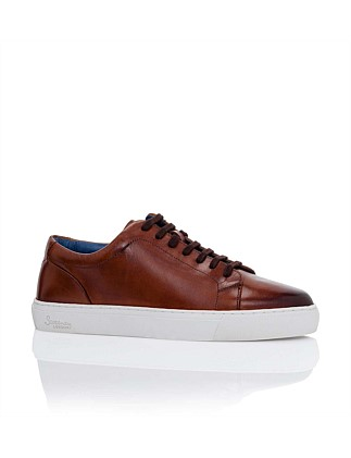 ANTIQUE CALF LEATHER SNEAKER