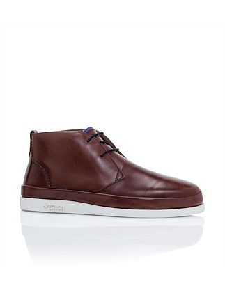 CALF LEATHER CHUKKA BOOT