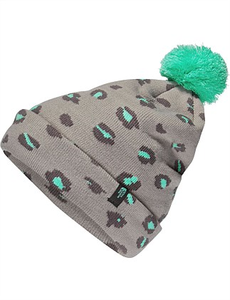 Girls Ski Tuke Beanie (Girls 8-14 Years)