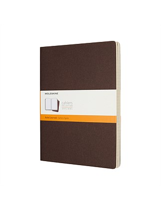 Cahier Set Of 3 XL Ruled Notebooks