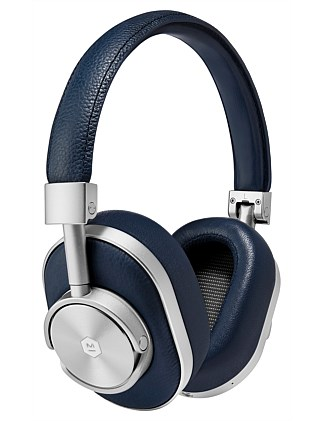 MW60 Wireless Over-Ear Headphones - Navy/Silver