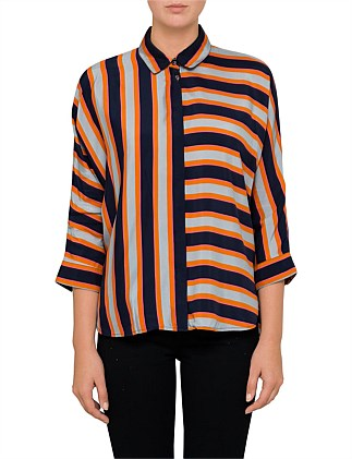 Emaxi_1 10203173 01 STRIPE SHIRT