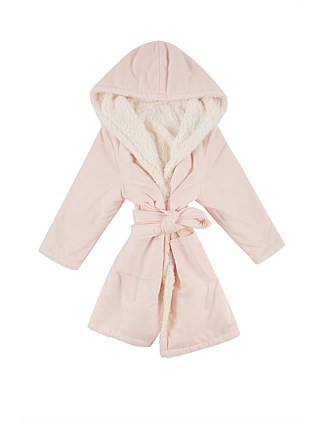 GIRLS SHERPA ROBE