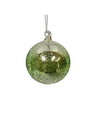 Ornament Glass Ball Green