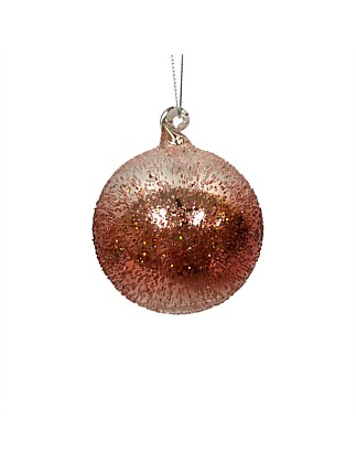 Ornament Glass Ball Red