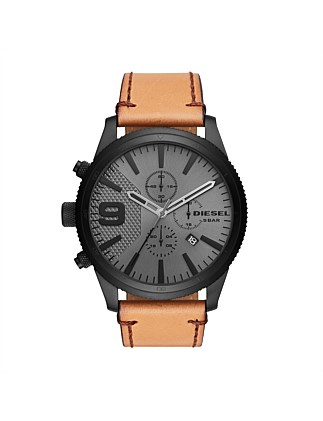 Rasp Chrono Brown Watch