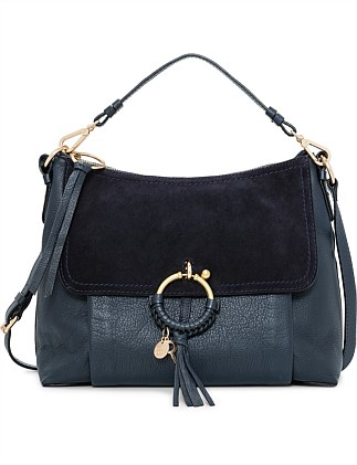 Joan Medium Leather Shoulder Bag