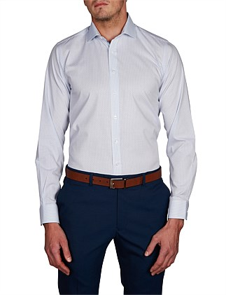 KONSTANZ CHECK DOBBY SLIM FIT SHIRT