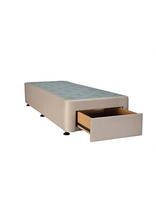 SPACESAVER OATMEAL SPLIT Q BASE FRONT DRAWER