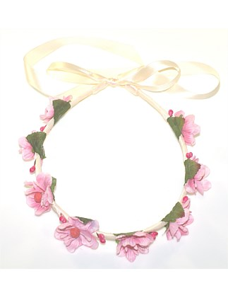 Blossom Ribbon Wrapped Garland.