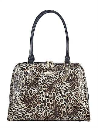 SERENADE GOLDEN LEOPARD HANDBAG