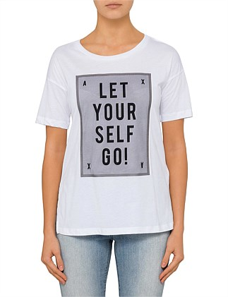 Let Yourself Logo Tee