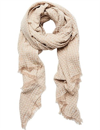 Textured Animal Scarf