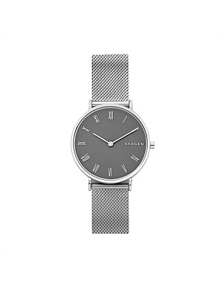 Slim Hald Silver Watch