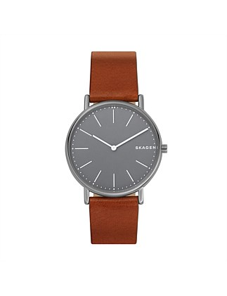 Signatur Slim Brown Watch