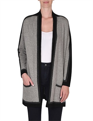 Long Sleeve Tipping Cardi