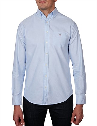 57194ee255a9 THE OXFORD SHIRT LS BD. WHITE