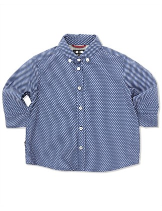 Oval Print Shirt (Boys 0-2 Yrs)