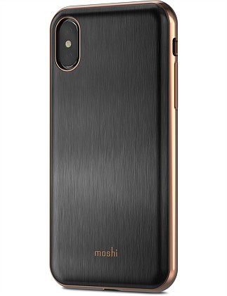 Moshi iGlaze for iPhone X - Black