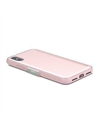 Moshi StealthCover for iPhone X - Champagne Pink